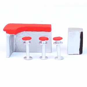 Miniatura de Bar 1/100 675 Minitec 05 Peças