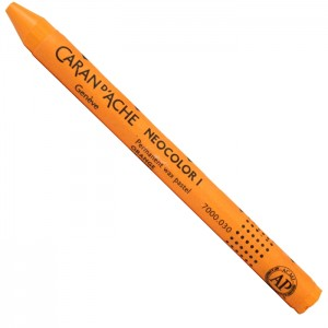Pastel Neocolor I Caran D'Ache 030 Orange