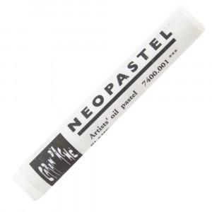 Pastel Oleoso Neopastel Caran d'Ache 001 White