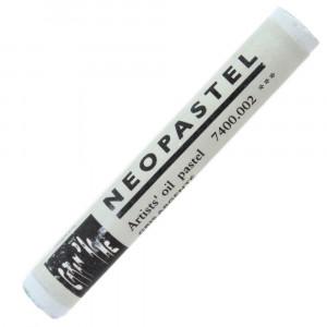 Pastel Oleoso Neopastel Caran d'Ache 002 Silver Grey