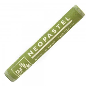 Pastel Oleoso Neopastel Caran d'Ache 016 Khaki Green