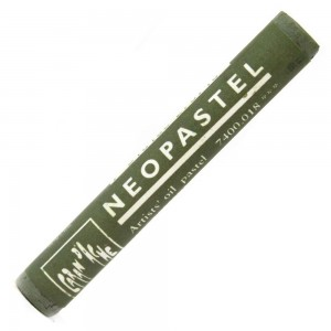 Pastel Oleoso Neopastel Caran d'Ache 018 Olive Grey