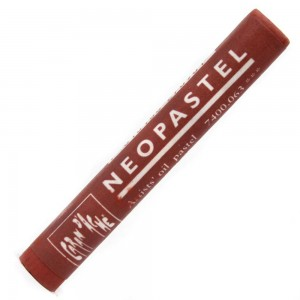 Pastel Oleoso Neopastel Caran d'Ache 063 English Red