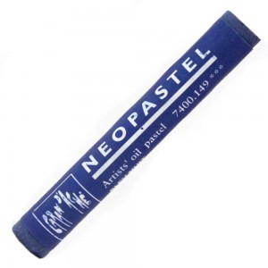 Pastel Oleoso Neopastel Caran d'Ache 149 Night Blue