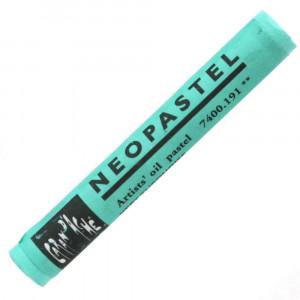 Pastel Oleoso Neopastel Caran d'Ache 191 Turquoise Green