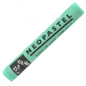 Pastel Oleoso Neopastel Caran d'Ache 211 Jade Green