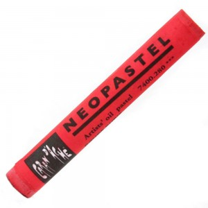 Pastel Oleoso Neopastel Caran d'Ache 280 Red Ruby