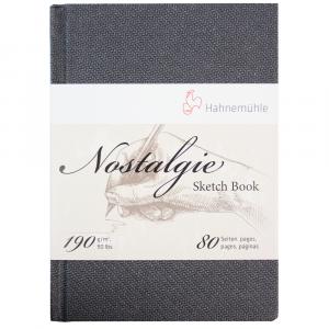 Bloco Papel Sketchbook Nostalgie Hahnemühle A5 Retrato
