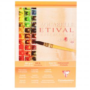 Papel Para Aquarela Etival A5 300g Clairefontaine