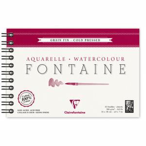 papel para aquarela clairefontaine fontaine 300g