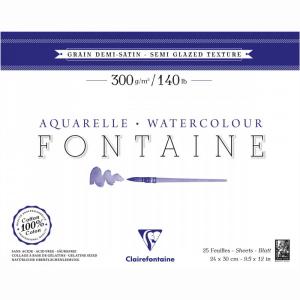 papel para aquarela fontaine clairefontaine 300g