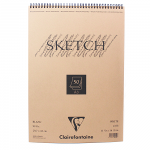 Bloco de Papel Sketch Clairefontaine A3