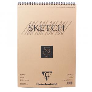 Bloco de Papel Sketch Clairefontaine A3