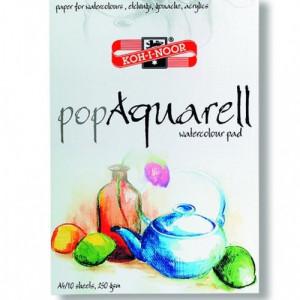 Bloco de Papel Para Aquarela Koh-I-Noor A2 250gr