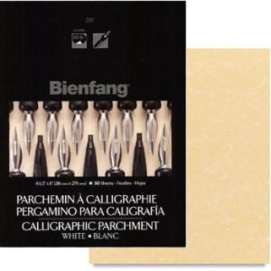 Papel de Caligrafia Pergaminho Ouro Bienfang