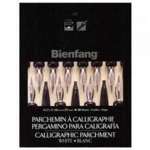 Papel de Caligrafia Pergaminho Branco Bienfang