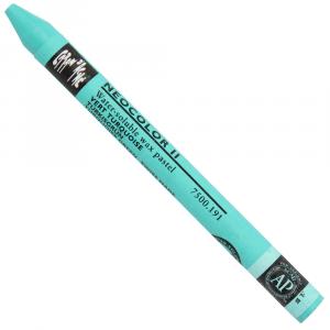 Giz Aquarelável Neocolor II Caran D'Ache 191 Torquoise Green