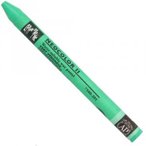 Giz Aquarelável Neocolor II Caran D'Ache 201 Veronese Green