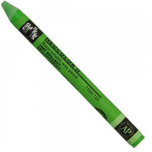 Giz Aquarelável Neocolor II Caran D'Ache 720 Bright Green