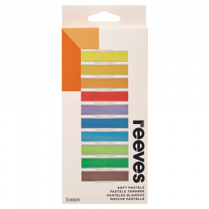 Pastel Seco Reeves 12 Cores