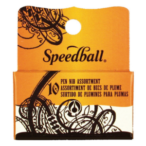 Kit para Caligrafia Speedball com 10 Penas