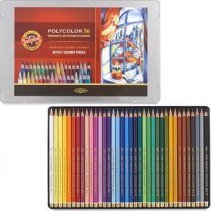 Lápis de Cor Polycolor 36 cores