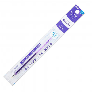 Refil Caneta Gel Pentel Sliccies 0.5 mm Violeta