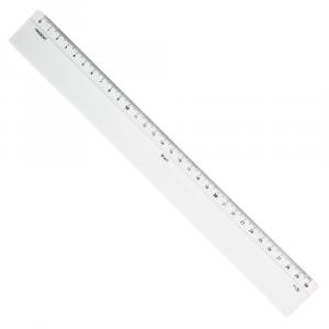 Régua de Acrílico 30cm  Trident 7130