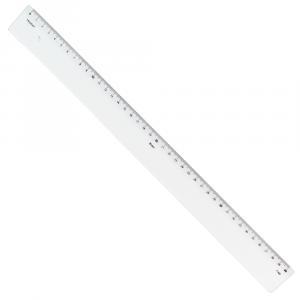 Régua de Acrílico 40cm Trident 7140