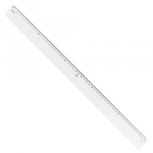 Régua de Acrílico 50cm Trident 7150