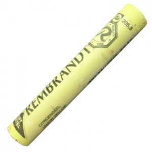 Pastel Seco Rembrandt 205.8 Lemon Yellow