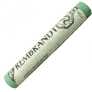 Pastel Seco Rembrandt 627.7 Cinnabar Green Deep