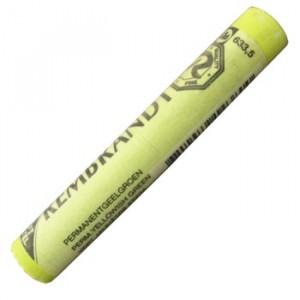 Pastel Seco Rembrandt 633.5 Permanent Yellow Green