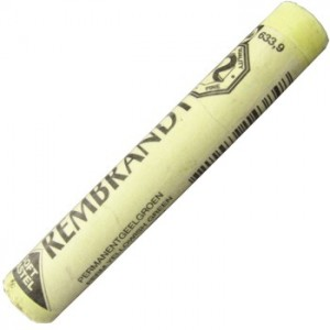 Pastel Seco Rembrandt 633.9 Permanent Yellow Green