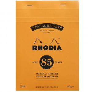 Bloco de Notas Rhodia 14,8x21cm Ed. Reservada 85 Anos