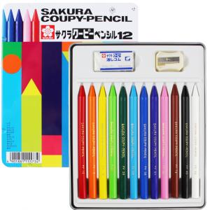 Lápis Integral Coupy Sakura 12 Cores