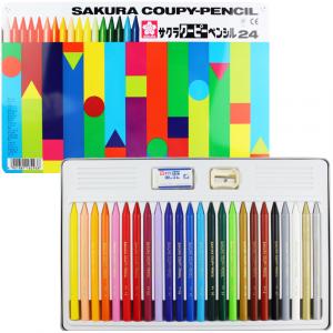 Lápis Integral Coupy Sakura 24 Cores