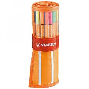 Estojo Caneta Stabilo 88 30 Cores 8830-02