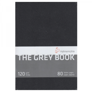 Bloco Papel The Grey Book Hahnemühle A4