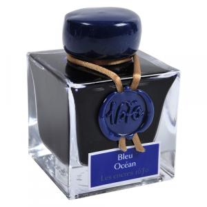Tinta Para Caneta Tinteiro Herbin 1670 50ml Bleu Ocean