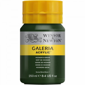 Tinta Acrílica Galeria Winsor & Newton 250ML 311 Hooker's Green