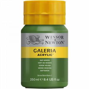 Tinta Acrílica Galeria Winsor & Newton 250ML 599 Sap Green