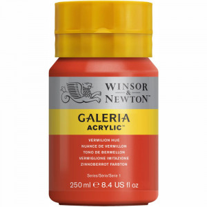 Tinta Acrílica Galeria Winsor & Newton 250ML 682 Vermilion Hue