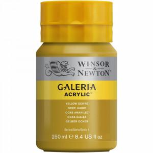 Tinta Acrílica Galeria Winsor & Newton 250ML 744 Yellow Ochre