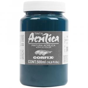 Tinta Acrílica Corfix 500ml 73 Verde Esmeralda