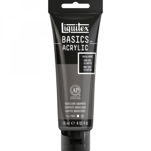 Tinta Acrílica Liquitex Basics 118ml 049 Iridescent Graphit