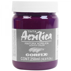 Tinta Acrílica Corfix 250ml 105 Laca Magenta G2