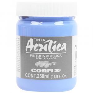 Tinta Acrílica Corfix 250ml 108 Azul Hortência G1