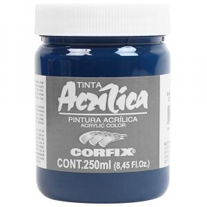 Tinta Acrílica Corfix 250ml 134 Azul Turquesa G1