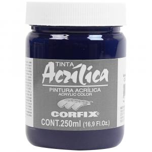 Tinta Acrílica Corfix 250ml  81 Violeta Permanente G2